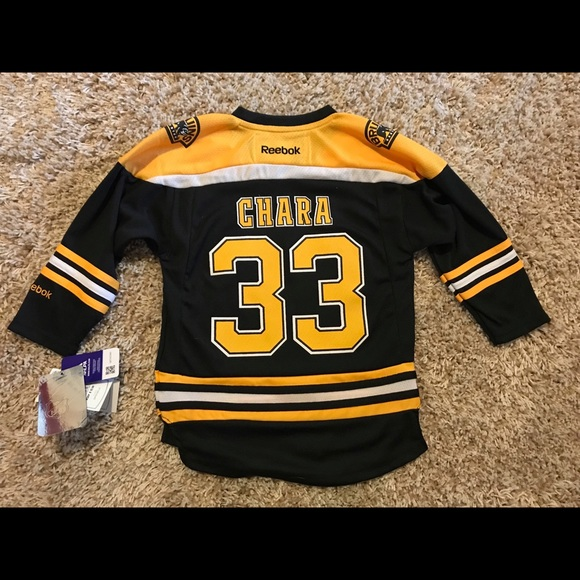online store a403b f890d NWT Kids Boston Bruins Chara Jersey NWT